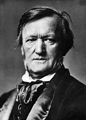 Richard Wagner, portrait