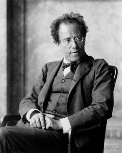 Figure 1. Gustav Mahler, photographed in 1907 at the end of his period as director of the Vienna Hofoper