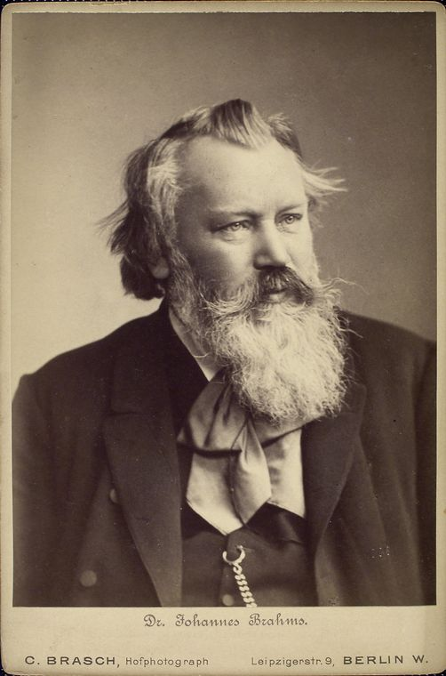 Figure 4. Brahms in mid-career