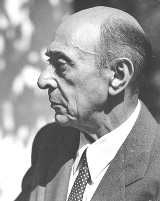 Figure 1. Arnold Schoenberg, Los Angeles, 1948