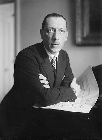 Figure 2. Igor Stravinsky