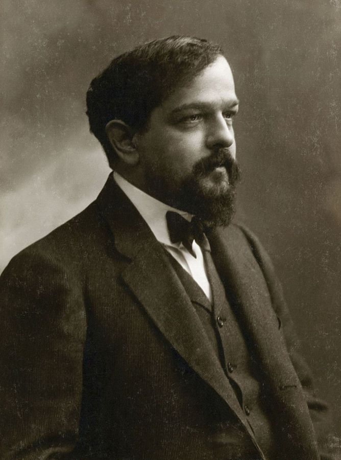 Figure 1. Claude Debussy in 1908