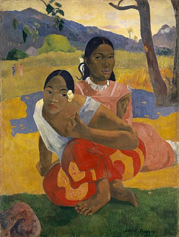 Figure 1. Paul Gauguin, Nafea Faa Ipoipo (When Will You Marry?), 1892, sold for a record US $300m in 2015
