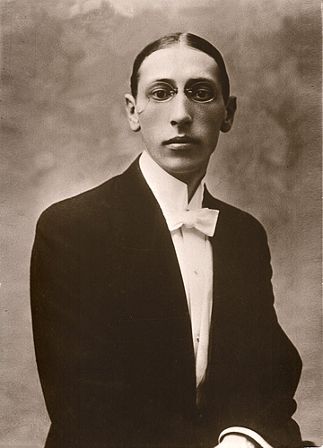Figure 1. Igor Stravinsky, 1903