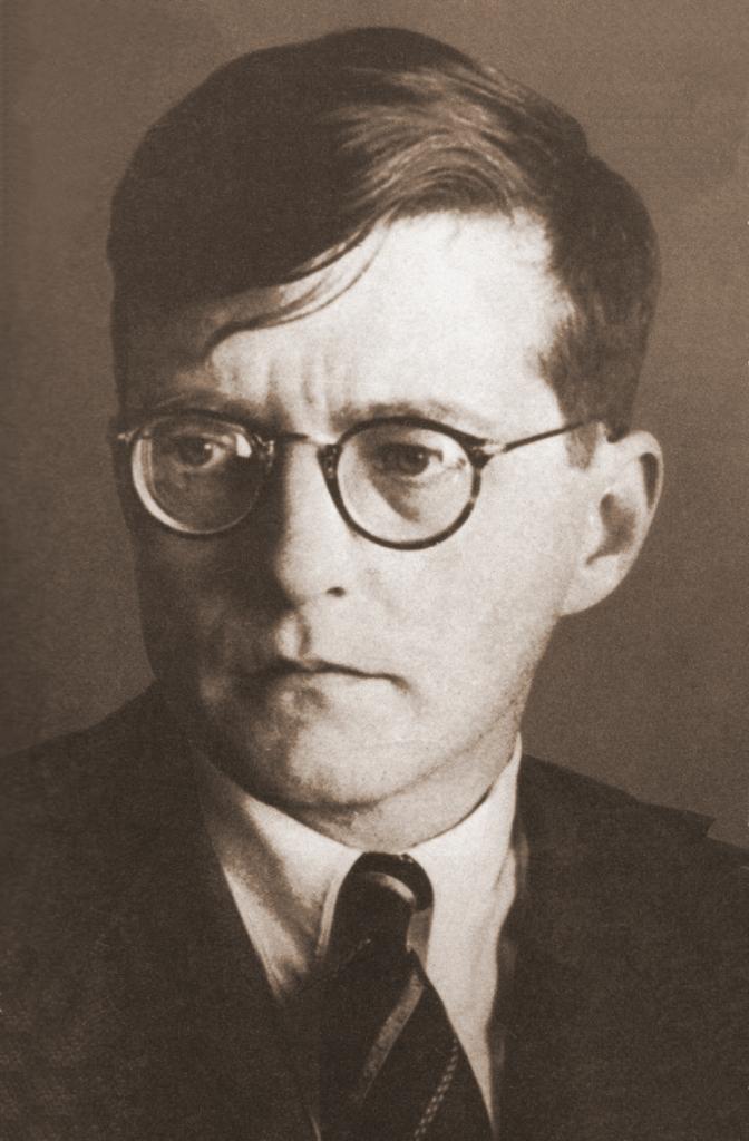 Figure 1. Dmitri Shostakovich in 1942