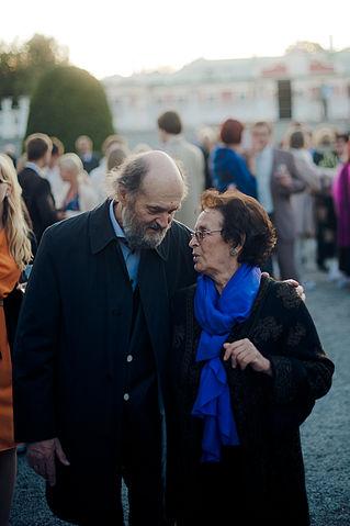 Figure 2. Arvo Pärt and Nora Pärt in 2012