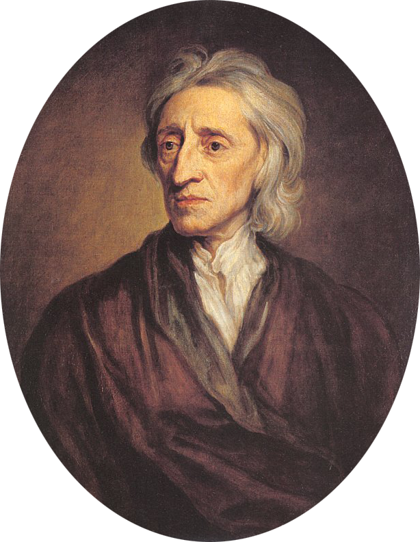 Portrait of John Locke by Sir Godfrey Kneller