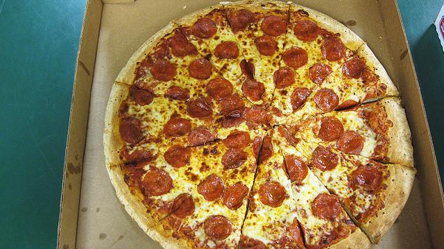 Pepperoni Pizza in box