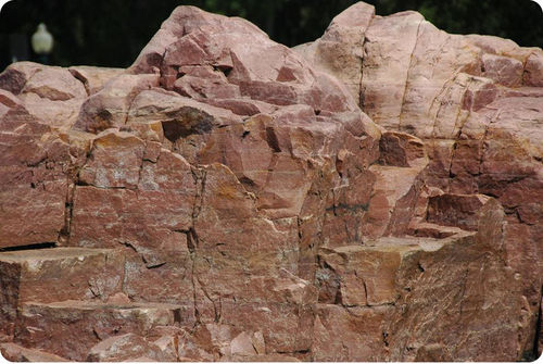 rock cycle of sandstone What is the beginning of the rock cycle the end  the sandstone surrounding the monument in utah eroded away 9 the microscopic view of sandstone contains what two components 10 what two things are needed to turn igneous rock into metamorphic rock heat and pressure.