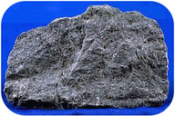 Figure 5. Cooled lava forms basalt with no visible crystals. Why are there no visible crystals?