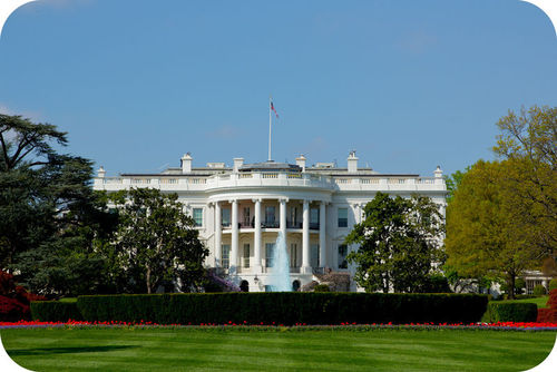 Figure 10. The White House of the USA is made of a sedimentary rock called sandstone.
