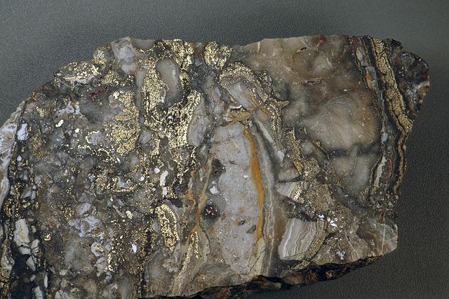 High-grade (bonanza) gold ore