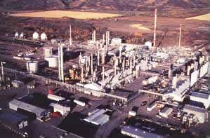 Figure 3. The McMahon natural gas processing plant in Taylor, British Columbia, Canada.