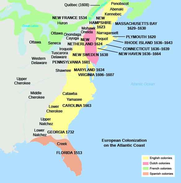 new england settlers vs the chesapeake The english colonies of chesapeake and the massachusetts bay colony was one of the new england colonies the settlers of this area came from england to.