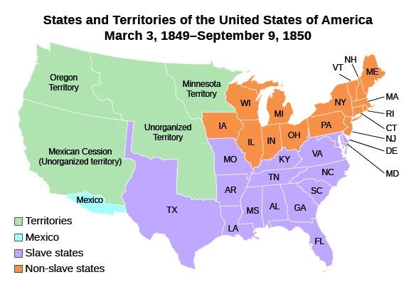 The Compromise of 1850 | US History I – Daniel Deluna, Santa Ana ...