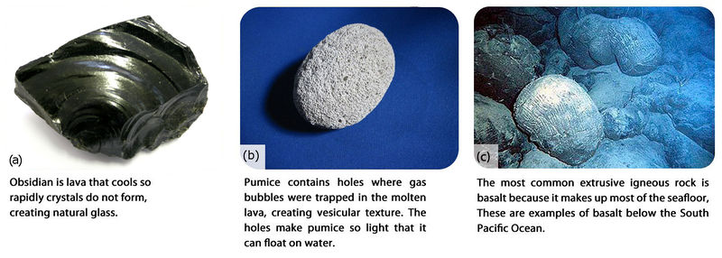 Igneous Rocks Earth Science