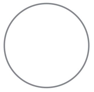 Empty circle.