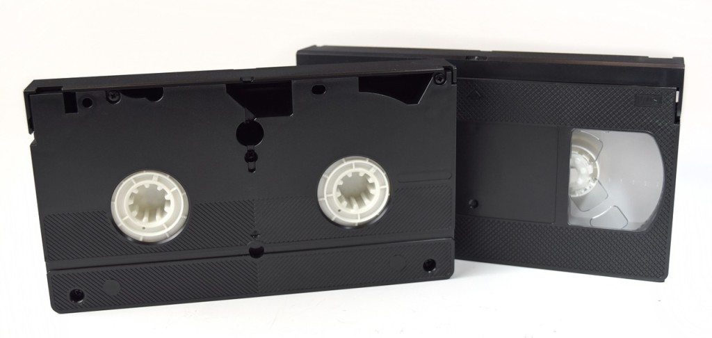 VHS tapes