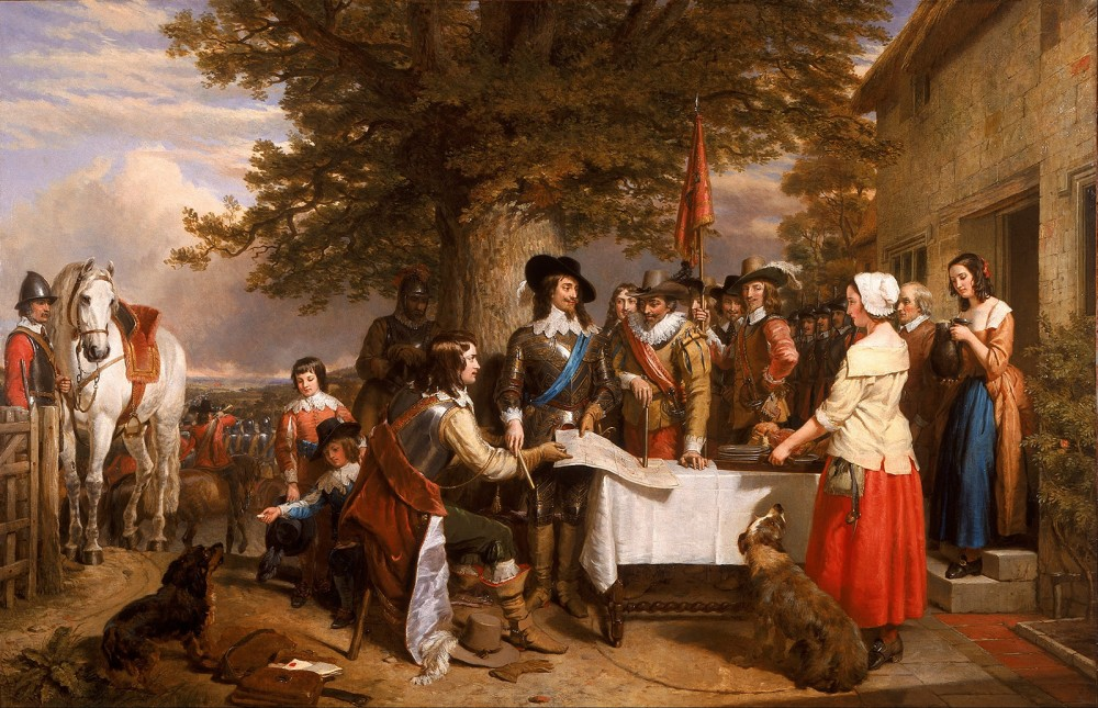 King Charles I and commanders