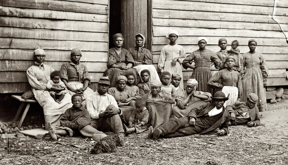 A group of black people at various ages.