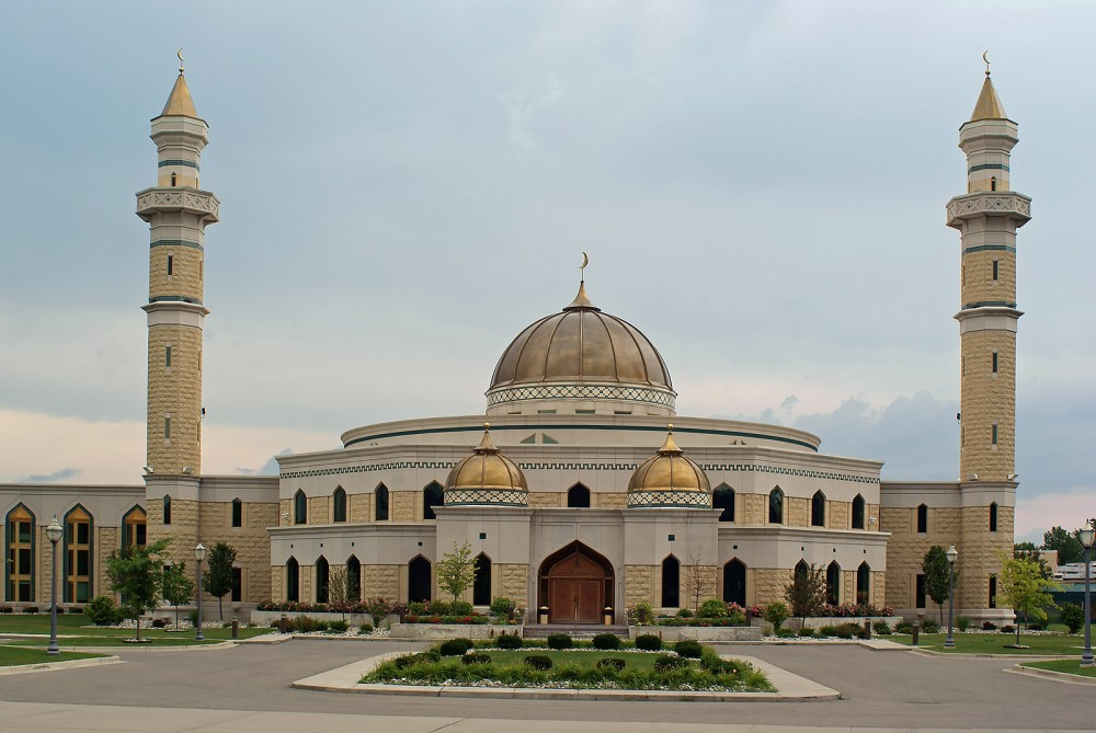 A large mosque.