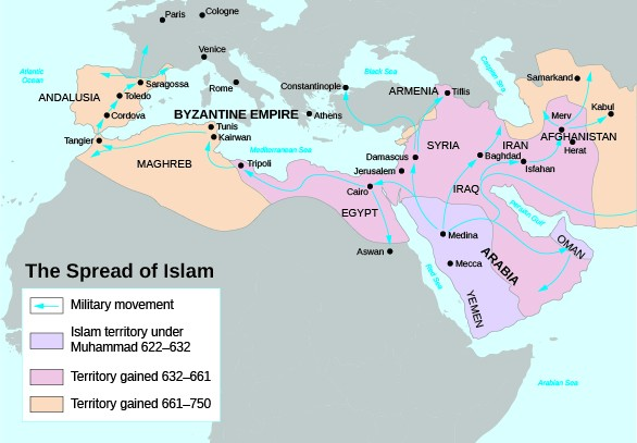 Muslim In Europe Map.Europe On The Brink Of Change United States History I