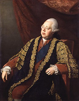 A painting of Lord North.
