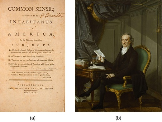 Thomas paine and common sense essay