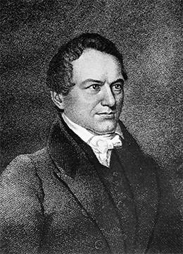 A portrait of Robert Hayne is shown.