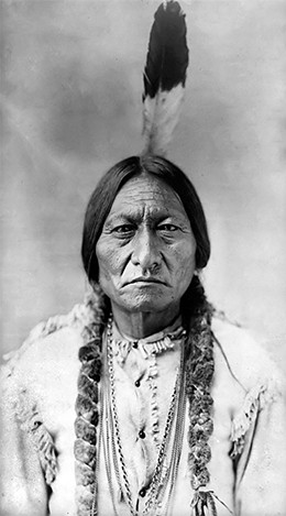 A photograph of Sitting Bull.