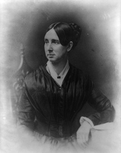 A portrait of Dorothea Dix is shown.