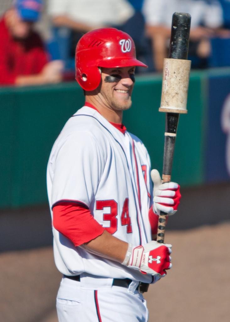 Photo of baseball player Bryce Harper