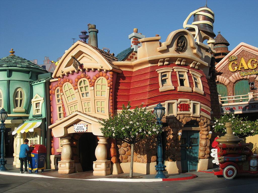 Photo of Disneyland Toontown.