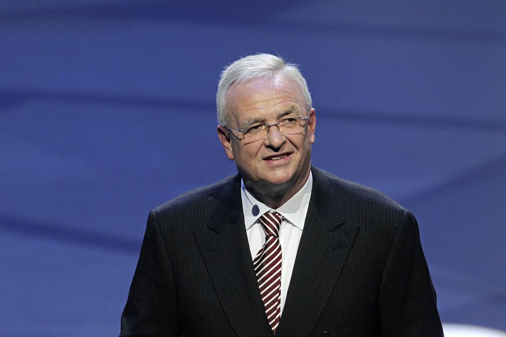 Photo of former VW CEO, Martin Winterkorn