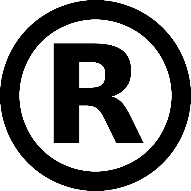 Official trademark symbol: black circle with a capital letter R in the middle.