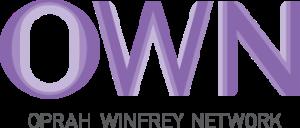 "Oprah Winfrey Network logo: the word ""OWN"" is in large purple letters."