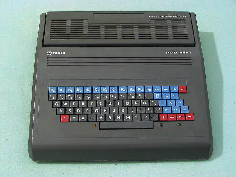 Czechoslovak computer PMD 85-1