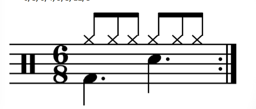 double bar line music definition
