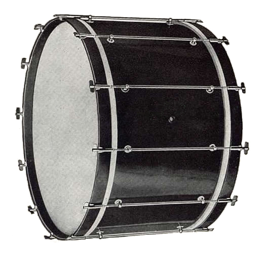 1919 Ludwig New Inspiration Model Bass Drum