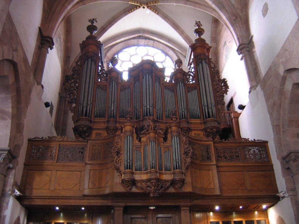 Large Pipe ORgan, Orgue Jean-André Silbermann de l'église Saint Thomas de Strasbourg Photo