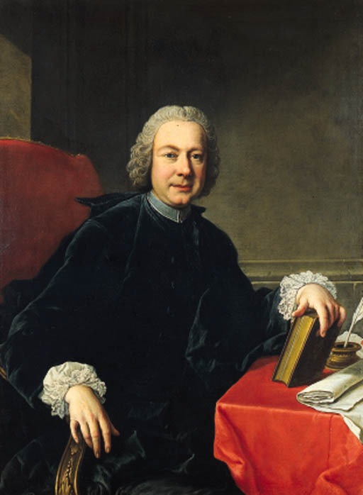 Portrait of Italian poet Pietro Metastasio (1698-1782)