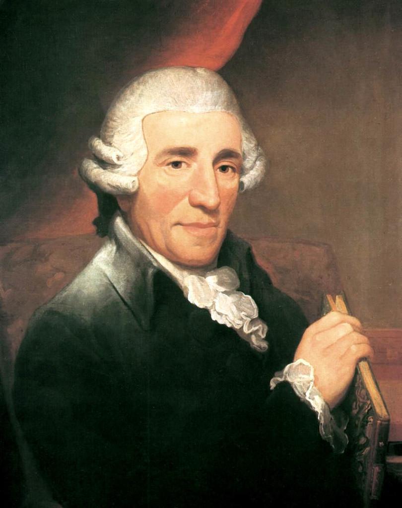 Portrait of Joseph Hayden by Thomas Hardy, 1791.
