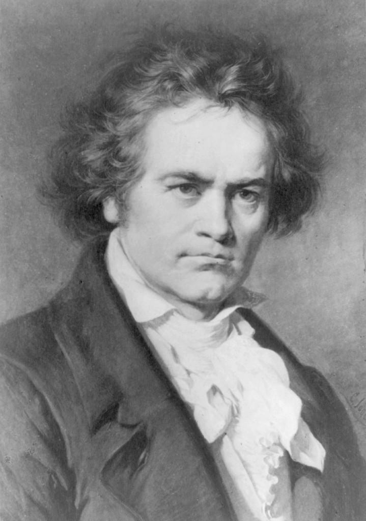 Portrait of Beethoven by Karl Jäger