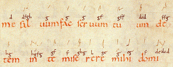 Digraphic neumes