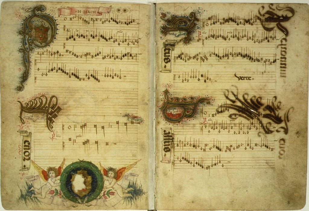 Chansonnier by Heinrich Isaac