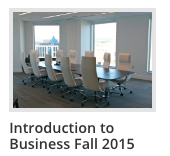 Cover of Introduction to Business Fall 2015 online text, with image of empty conference room