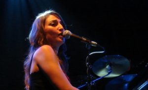 Bareilles performing live at De Melkweg Amsterdam