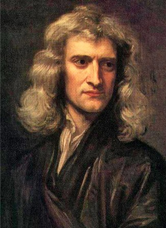 Isaac Newton's work on the laws of motion, gravity, optics, and mathematics laid the foundations for much of physical science.