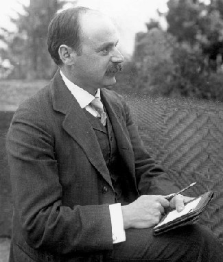 Photograph of Karl Schwarzschild.