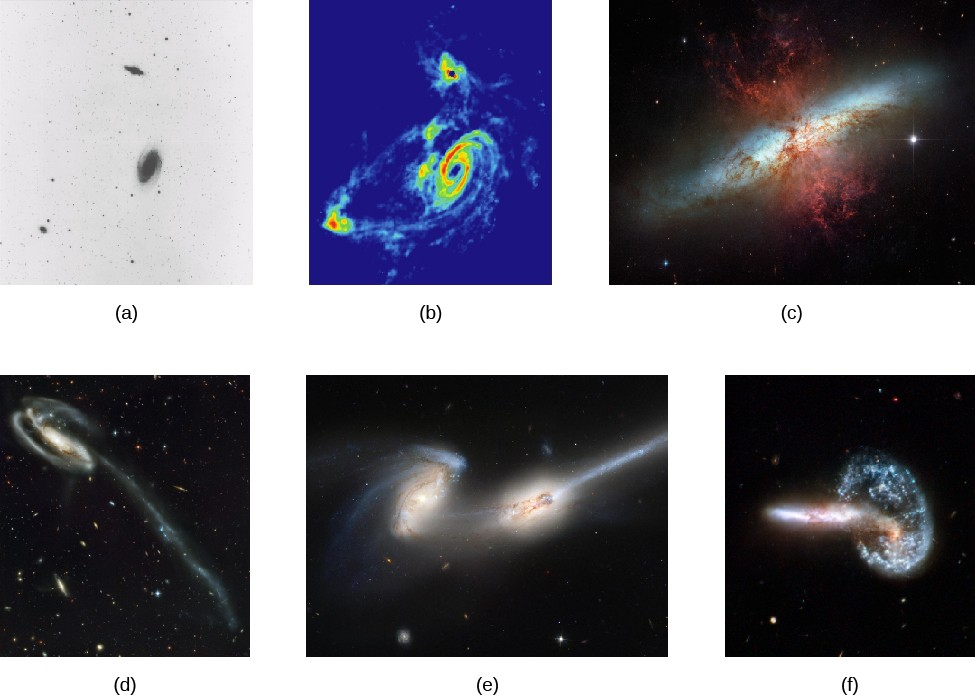Gallery of Interacting Galaxies. Panels
